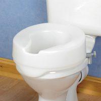 Ashby Easyfit Raised Toilet Seat