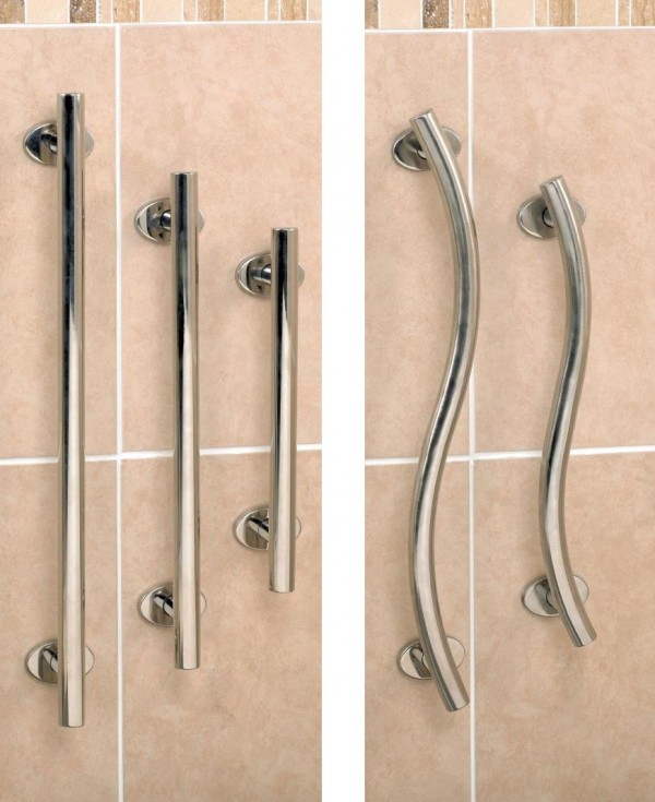 Homecraft Polished Stainless Steel Rails