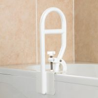 strong bath grab rail with fixing clamp