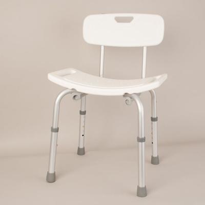 contoured plastic stool with optional backrest