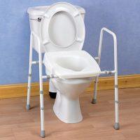 Stirling Adjustable Toilet Frames
