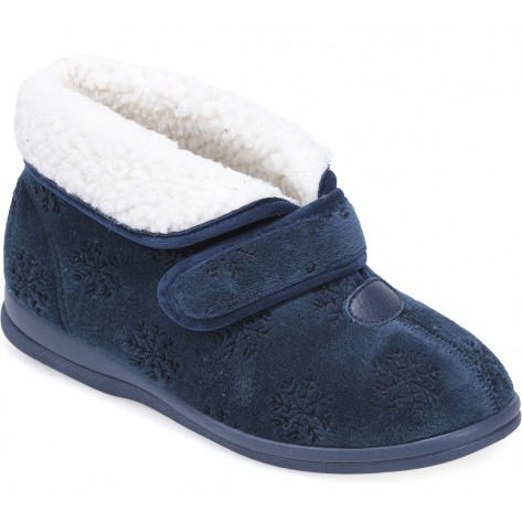 cosyfeet midnight blue dreamy slipper