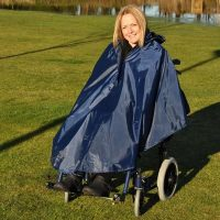 splash deluxe wheelchair poncho unsleeves