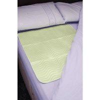 Bed Protector Reusable 75 x 90cm Green