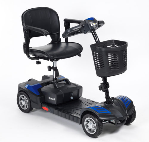 blue drive scout mobility scooter