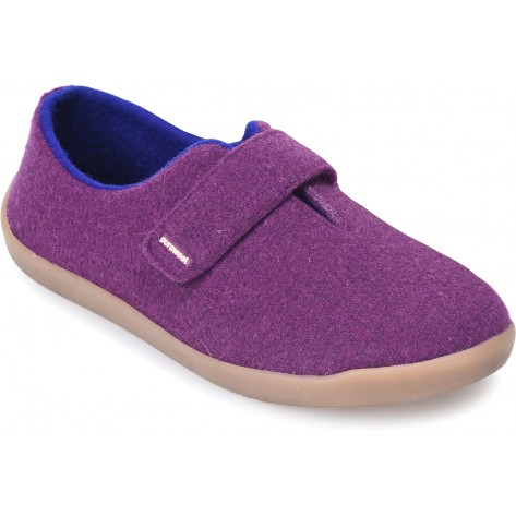 cosyfeet aubergine purple frieda shoe
