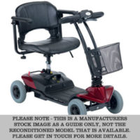 red st1 mobility scooter