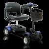 blue elite traveller mobility scooter