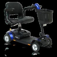 blue elite traveller lx mobility scooter