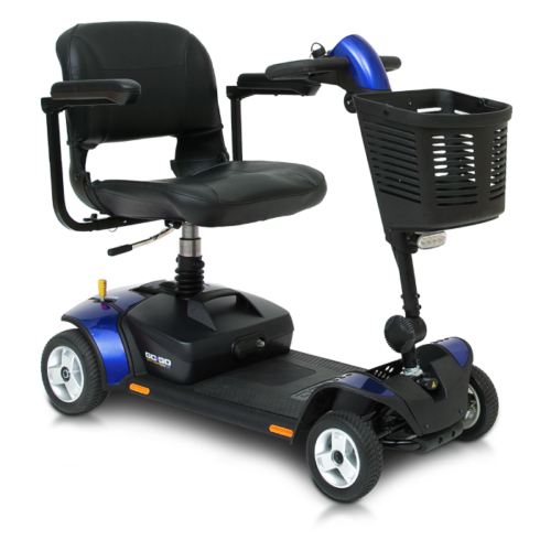 blue elite traveller lx mobility scooter