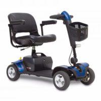blue elite traveller sport mobility scooter