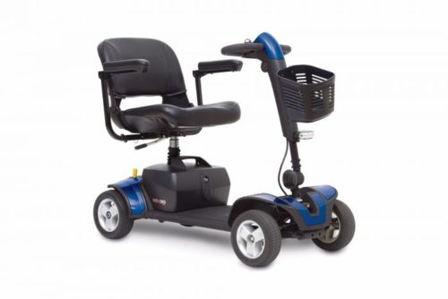 blue elite traveller sport mobility scooter