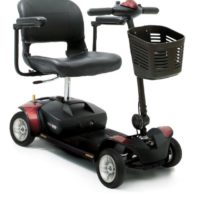 red elite traveller mobility scooter