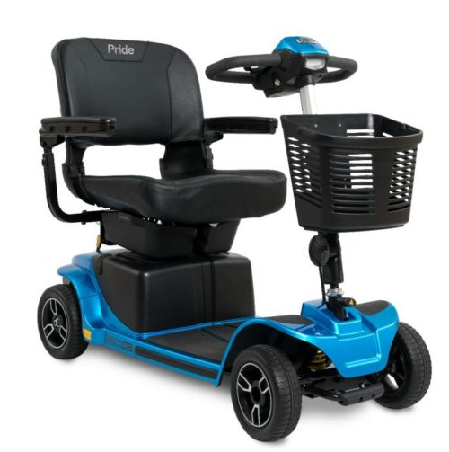 blue revo mobility scooter