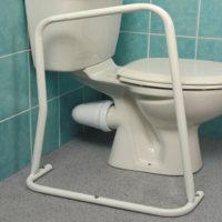 strong metal toilet frame