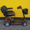 reconditioned Roma Medical Solva red class 2 boot mobility scooter side view