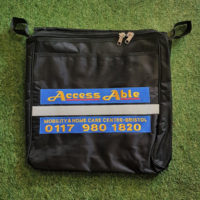 wheelchair bag with Access Able logo