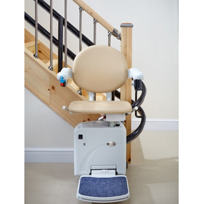 Handicare 2000 Curved Stairlift with Simplicity Seat